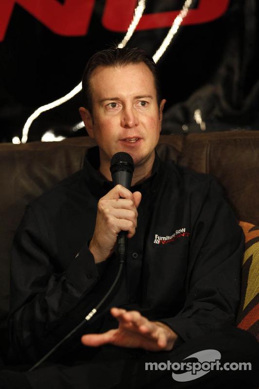 Apresentação de Kurt Busch, Furniture Row Racing Chevrolet