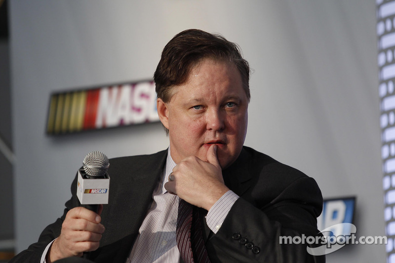 Brian France Chairman en CEO NASCAR