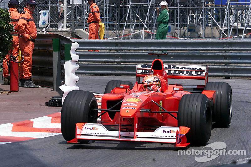 2000 Monaco GP, Ferrari F1-2000