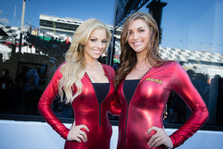 The charming MOMO girls, including former Miss Sprint Cup Paige Duke