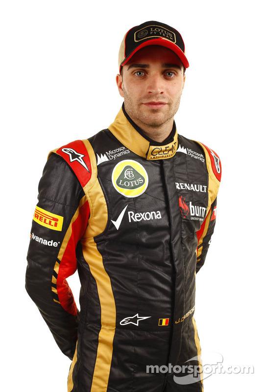 Jérôme d'Ambrosio, Testfahrer, Lotus F1 Team