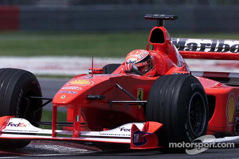 2000 Canadian GP, Ferrari F1-2000