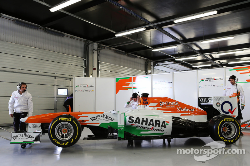 Пол ди Реста. Презентация Sahara Force India VJM06, Презентация.