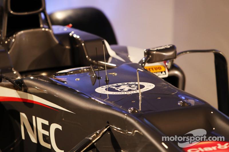 Sauber C32 cockpit