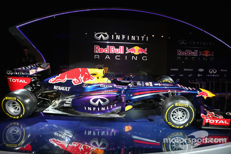 Презентация Red Bull Racing RB9, Презентация.