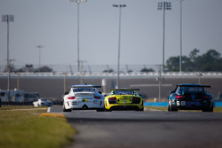 #21 Dener Motorsport Porsche GT3: Ricardo Mauricio, Rubens Barrichello, Tony Kanaan, Nono Figueiredo, Felipe Giaffone, #13 Audi Sport Rum Bum Racing Audi R8 Grand-Am: Frank Biela, Christopher Haase, Matt Plumb, Markus Winkelhock, #68 TRG Porsche GT3: Brad