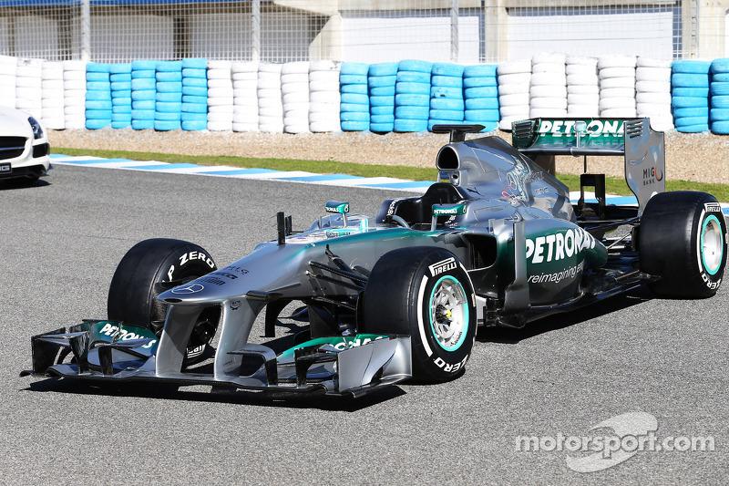 2013: Mercedes W04