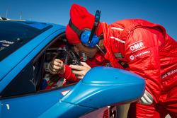 Raphael Matos and #245 Ferrari of Fort Lauderdale Ferrari 458: Mario Gleijeses