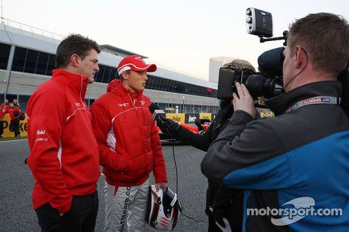 Marussia MR02 launch