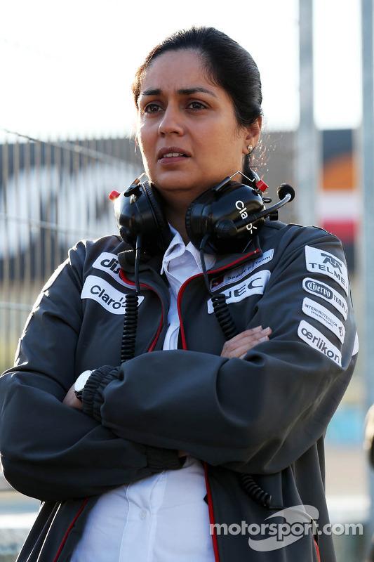 Monisha Kaltenborn, chefe da equipe Sauber