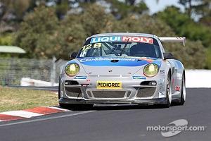 #12 Competition Motorsports Porsche 997 GT3 Cup: David Calvert-Jones, Alex Davison, James Davison
