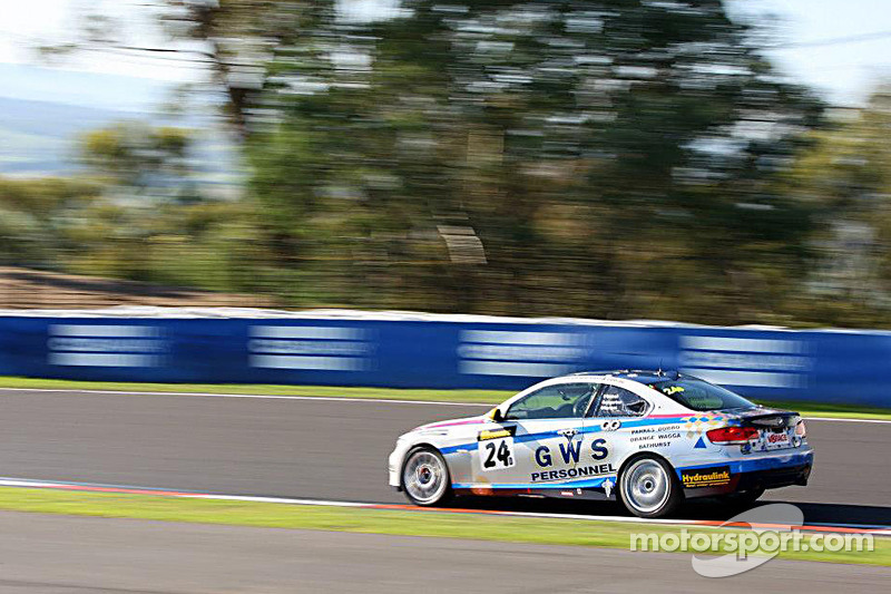 #24 GWS Personnel Motorsport BMW 335i: Peter O'Donnell, Andre Heimgartner, Anthony Gilbertson