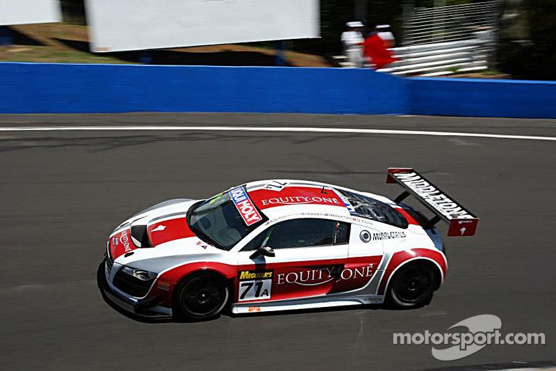 #71 Audi R8 LMS: Dean Koutsoumidis, Andrew McInnes, Simon Middleton, Darryl O'Young at Bathurst ...
