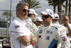 Jens Marquardt, Head of BMW Motorsport and Dirk Müller