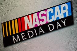 NASCAR Media Day sinalização