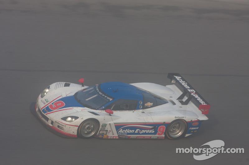 #9 Action Express Racing Corvette DP: Joao Barbosa, Mike Rockenfeller, Brian Frisselle, Burt Frissel