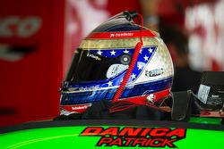 Даніка Патрік, шолом, Stewart-Haas Racing Chevrolet