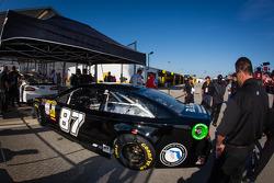 Car of Joe Nemechek, NEMCO Motorsports Toyota at technical inspection