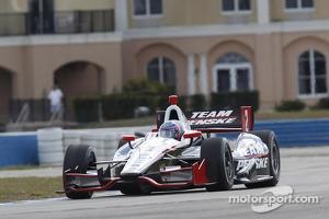 A.J. Allmendinger, Penske Racing test days at Sebring