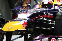 Mark Webber, Red Bull Racing RB9 front suspension detail