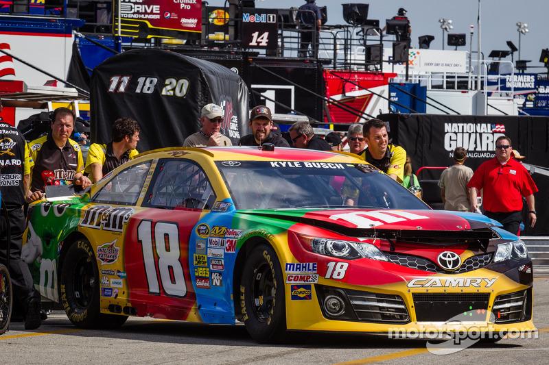 De auto van Kyle Busch, Joe Gibbs Racing Toyota