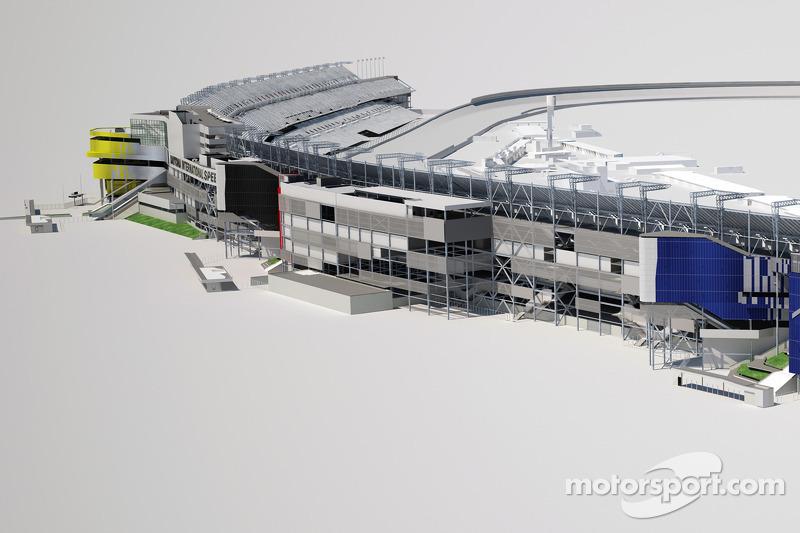 Schetsen van het nieuwe Daytona