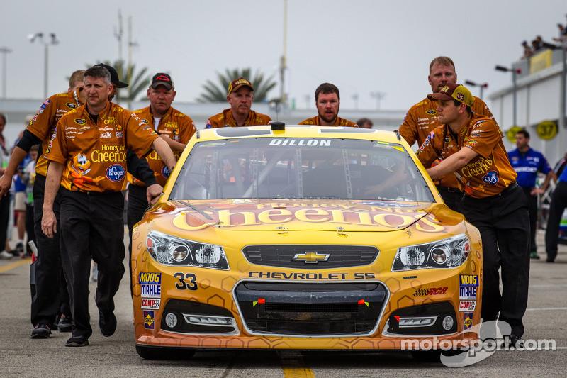 De auto van Austin Dillon, Richard Childress Racing Chevrolet