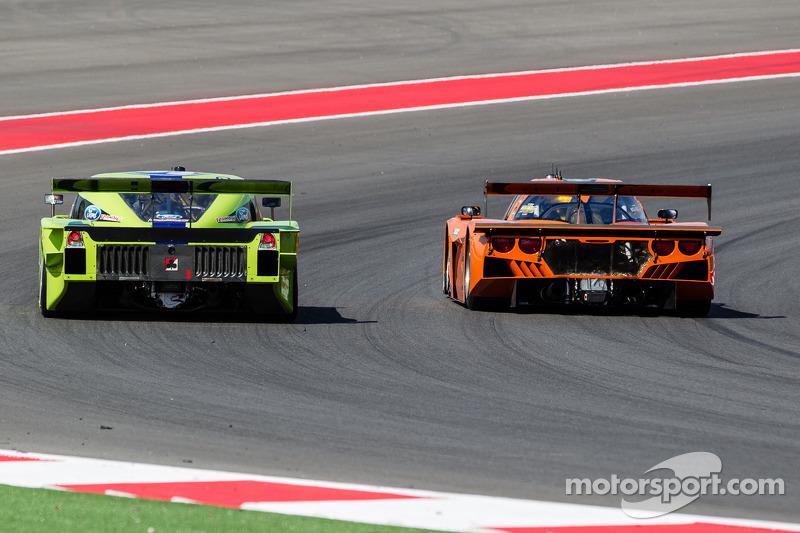 #76 Krohn Racing Ford Lola: Nic Jonsson, Tracy Krohn