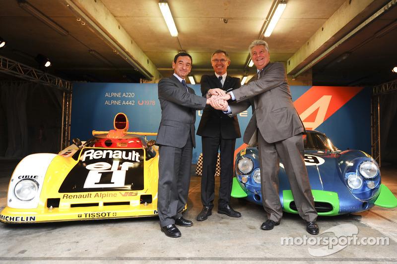 Carlos Tavares, operating chief Renault, en Pierre Fillon, president ACO