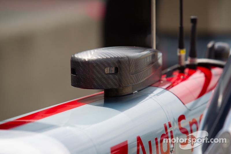 Audi Sport Team Joest Audi R18 e-tron quattro camera- en telemetrie-apparatuur