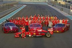 Ferrari group shot