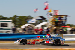 #0 DeltaWing Racing Cars DeltaWing LM12 Elan: Olivier Pla, Andy Meyrick