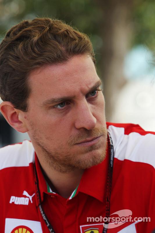 Renato Bisignani, Ferrari Chefe de Comunicação