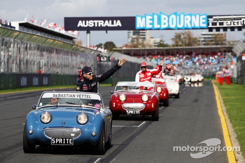 Себастьян Феттель. ГП Австралии, Воскресенье, перед гонкой.