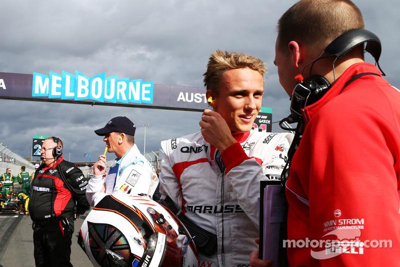 Макс Чилтон. ГП Австралии, Воскресенье, перед гонкой.