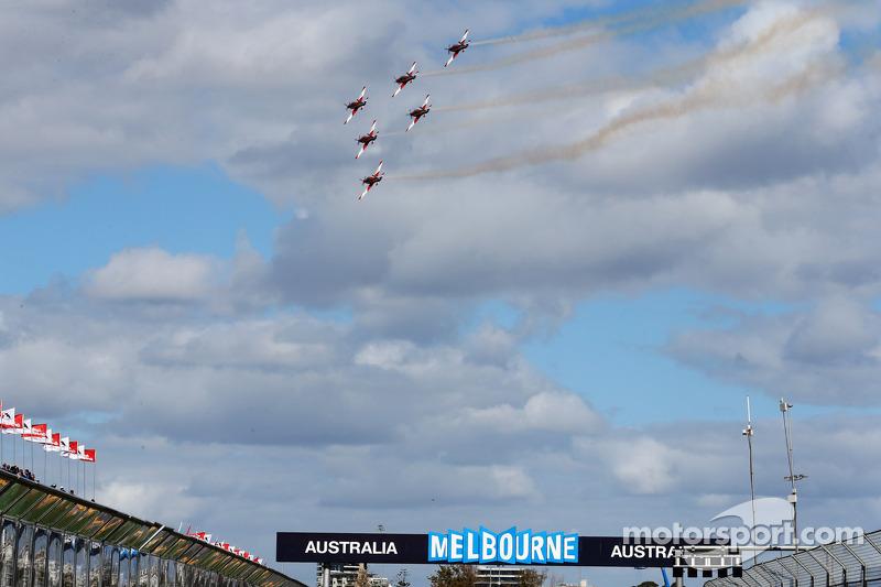 Australian Royal Air Force-demonstratie