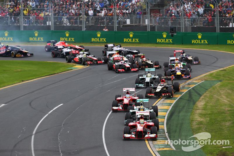 ГП Австралии, Воскресная гонка.