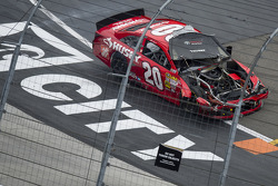 Matt Kenseth, Joe Gibbs Racing Toyota crashes