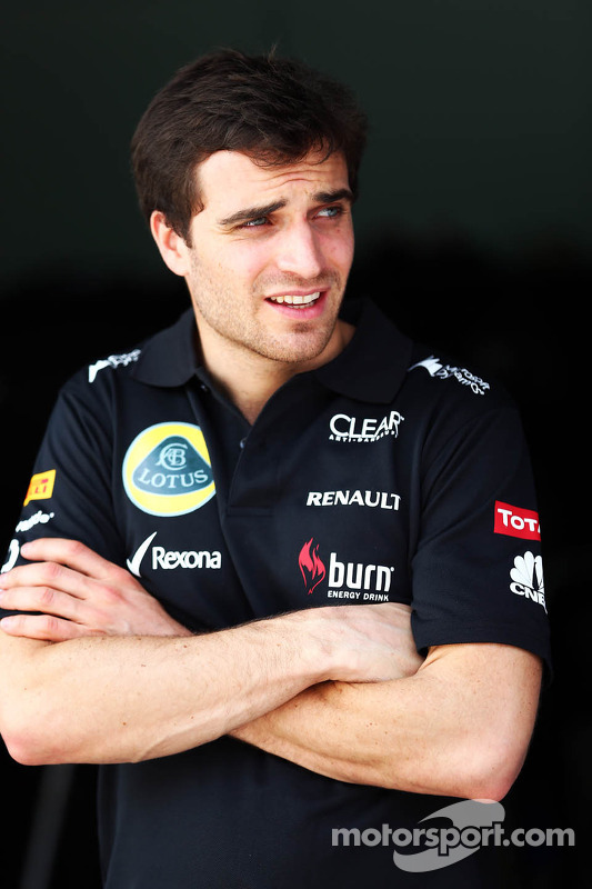 Jerome d'Ambrosio, terceiro piloto Lotus F1 Team