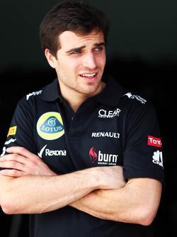 Jerome d'Ambrosio, Lotus F1 Team Third Driver
