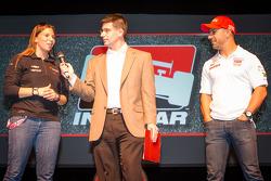 Drivers presentation: Simona de Silvestro, KV Racing Technology Chevrolet and Tony Kanaan, KV Racing Technology Chevrolet
