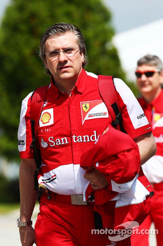 Pat Fry, Sub-diretor técnico da Ferrari e Chefe do Engenheiro de Corridaing