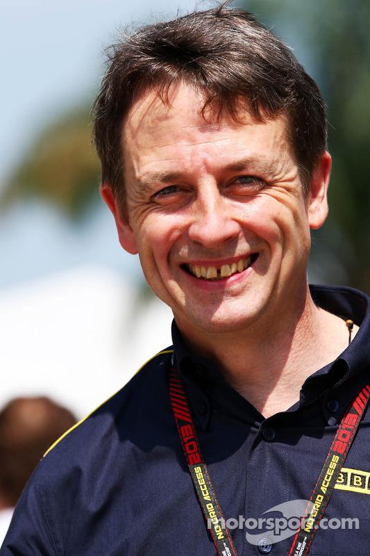 Ben Edwards, comentarista da BBC TV