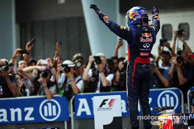 Себастьян Феттель. ГП Малайзии, Воскресенье, после гонки.