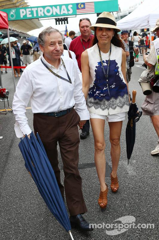 Jean Todt, Presidente da FIA com Michelle Yeoh