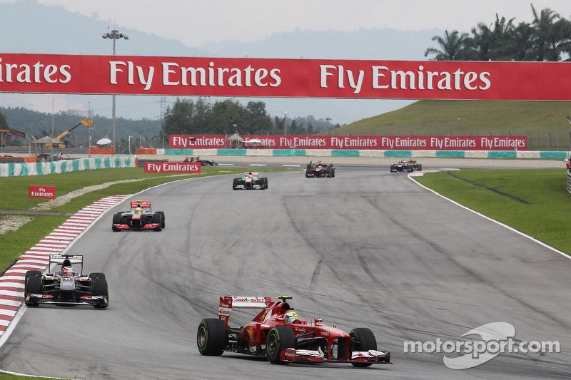 Фелипе Масса. ГП Малайзии, Воскресная гонка.