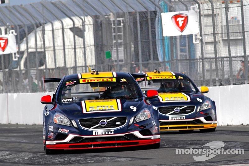 Alex Figge en Randy Pobst, K-Pax Racing/Volvo S60