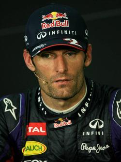 The post race FIA Press Conference, Sebastian Vettel, Red Bull Racing, race winner