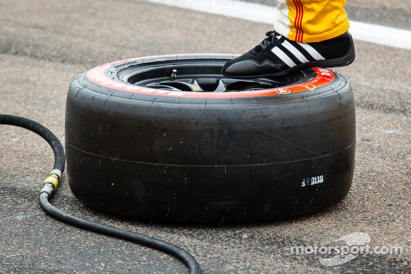 Andretti Autosport team klaar voor de pitstop