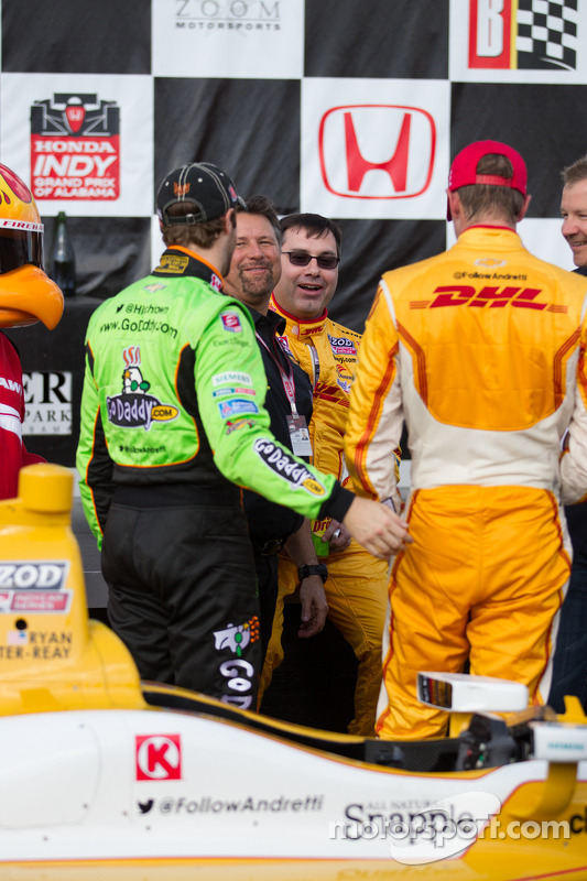 Michael Andretti, Ryan Hunter Reay